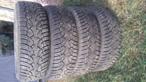 Winter tires studded 215 65 R16
