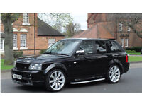 Rangrover sports 2.7 td HST body kit