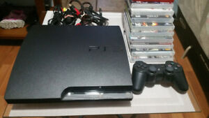 Jailbroken PS3 Console + Accessories + 18 Great Games