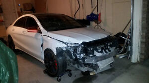 2016 Mercedes-Benz CLA45 AMG Repairable damaged salvage Upgrades