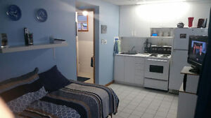 Small bachelor apartment in Port Credit by the lake and GO train