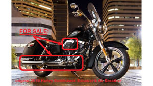 2016 Harley Davidson Dyna Switchback - Exhaust & Air Breather