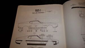 FORD MUSTANG TECHNICAL DIGEST OF PONY CAR INC GT AND SHELBY Kitchener / Waterloo Kitchener Area image 7