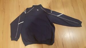 DIADORA Mens XL Large Soccer Futbol Football Full Zip Jacket Windsor Region Ontario image 2