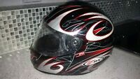 ZOX Cyclone Large Motorcycle Helmet Casque Motocyclette