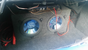 Amp, Subs and Accessories