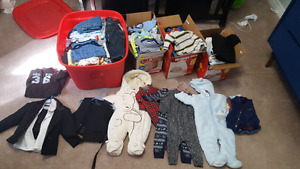Huge lot nb  to 6 months
