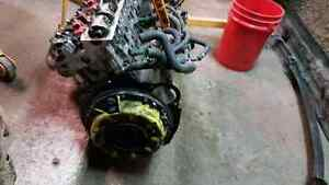 R33 Rb25det Series 1 long block with clutch+flywheel, coilpacks