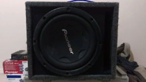 "12"" Sub and amp"