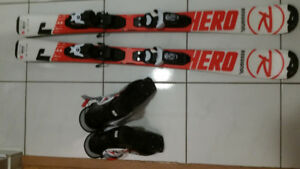 Used  ski with bindings  and boots (size 20.5)and for $149 OBO