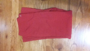 Size 7/8 red boot cut dress pants Peterborough Peterborough Area image 1