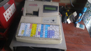 sharp cash register for parts