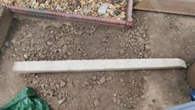 5ft Concrete Diagonal Post Strut
