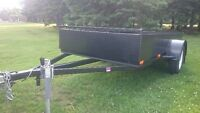 58'' by 121'' homemade utility trailer