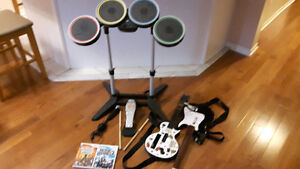 Rock Band And Wii/Wu Fit