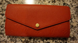 Scarlet Red Louis Vuitton Wallet