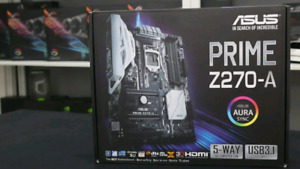 ***BRAND NEW***Asus prime z270-a motherboard