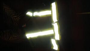 Work cloths vest and winter hoodie