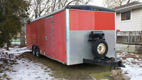 25' TOY HAULER WELLS CARGO TRAILER