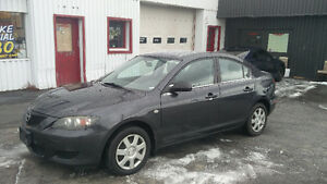 2006 Mazda 3 5 Speed 187,000km Safety/E-tested!