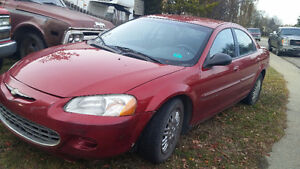 2001 Chrysler Sebring Sedan