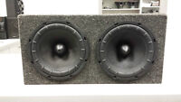 "2 Klipsch Energy 10"" Car Subs in Sealed Box"