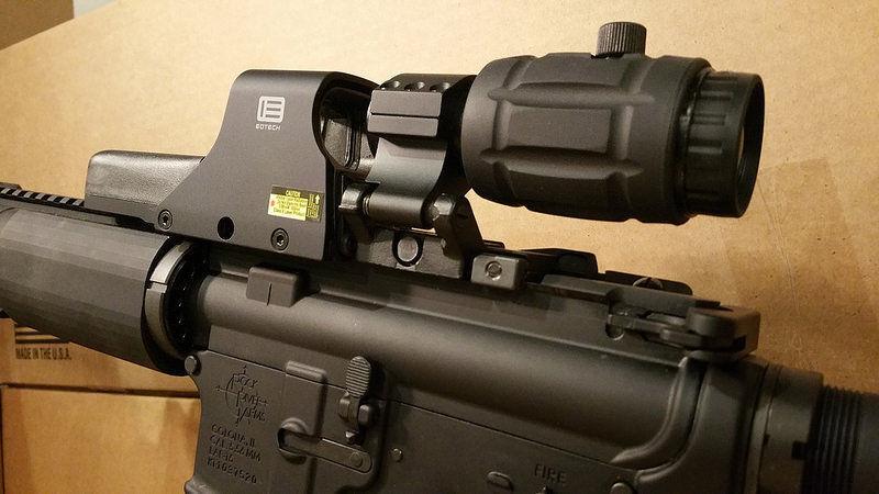EOTECH 512.A65 w/ 3X VECTOR OPTICS Magnifier Eotech 512  *