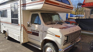 1981 Class C motorhome on Ford chassis