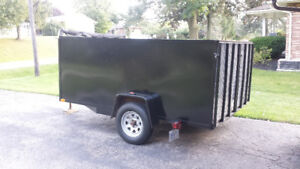 Large 7 x 10 Cargo/Utility Trailer, 3500lb axle