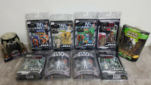 STAR WARS COLLECTABLES