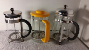 Good Quality French Press Coffee / Tea Makers