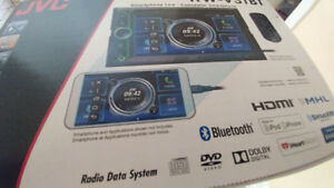 New in box jvc truck or car audio system