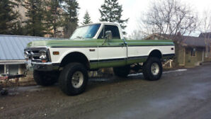 1971 GMC 1/2 ton 4X4 for sale