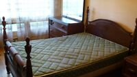 1940's Four Poster (double) Bedroom Set