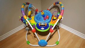 Baby Einstein bouncing chair & Little Tikes play table
