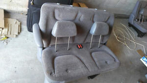 Dodge Caravan 1997-2007 second and third row bench seats