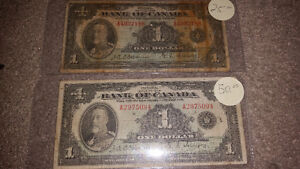 Looking to purchase any and all paper money pre 1988............ London Ontario image 3