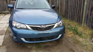 2009 Subaru Impreza 2.5li  AWD With 3 keys