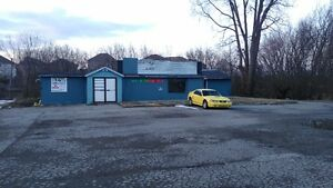 For lease, 3000 sq ft storage on one acre great location