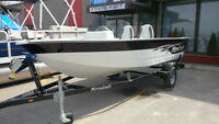 2013 Mirrocraft 1677 Outfitter aluminum boat w/2014 60hp Mercury