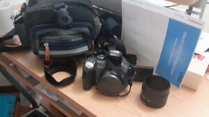 Canon camera  S3IS AND BAG