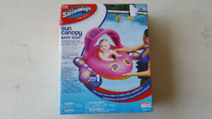 Swimways baby boat inflatable