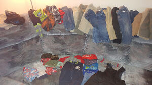 Lot boys' clothes 12-24 months