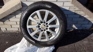 """Pneus d'hiver et mags pour roues de 16"""", boulons 5x120mm."""
