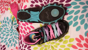 Girls ballerina sneakers size 2 *New