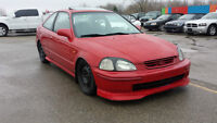 1998 Honda Civic Si Coupe - 5 SPEED - 905-586-4205