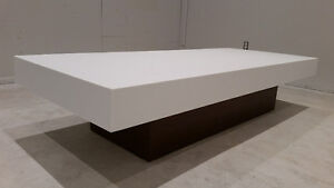 coffee table, contemporary