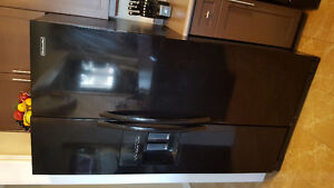 Kitchen Aid double doors with ice and water dispenser