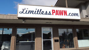 Limitless Pawn is open Mondays