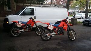 2 OF!  1984 CR250R BUY ONE GET ONE FREE!!